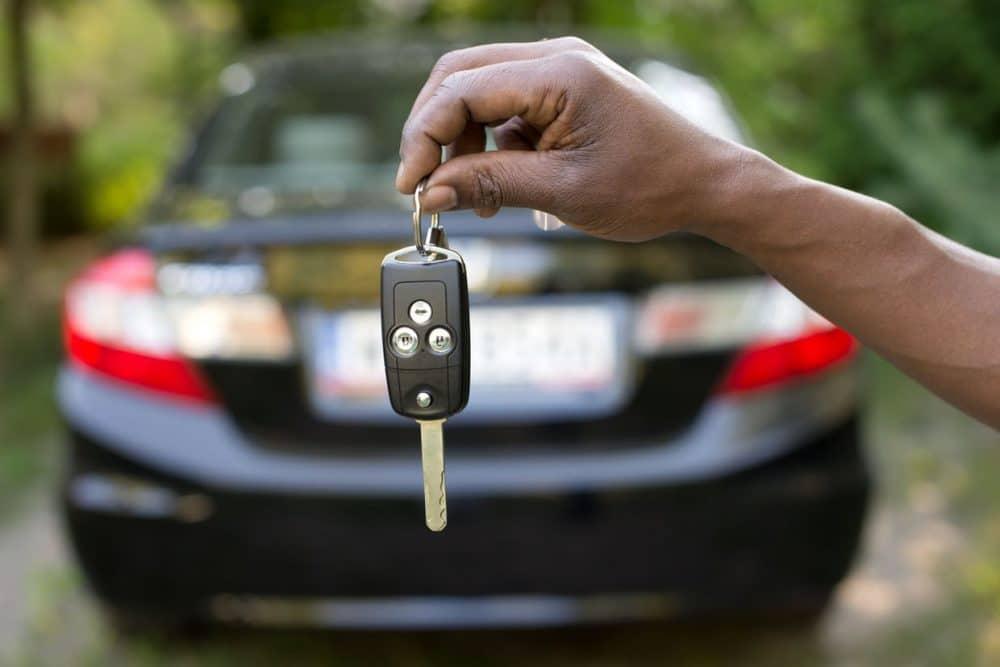 clés de voiture